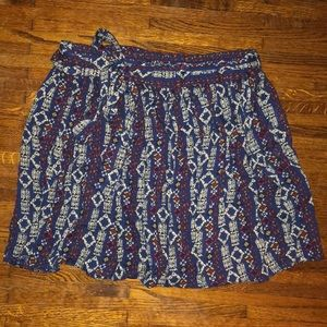 EUC Boho High Waisted Skirt
